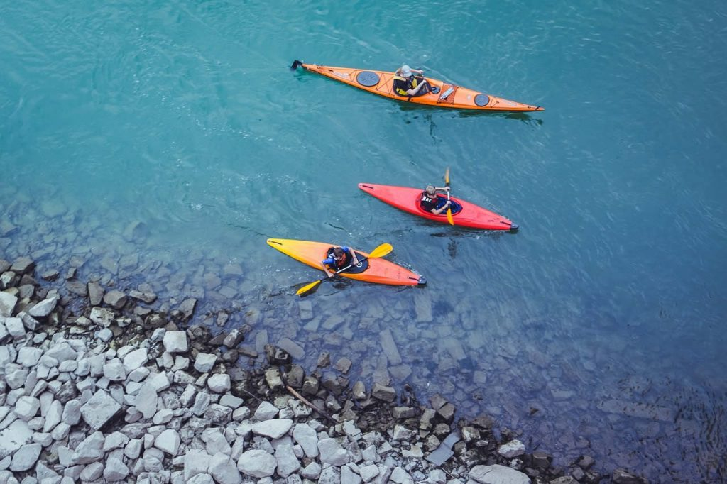 Canoe kayak eaux vives riviere